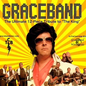 "GRACEBAND:  The 12 Piece Tribute to ""The King"" - Elvis Impersonator / Impersonator in Irvine, California"