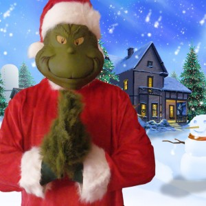 Green Christmas Costume Character - Costumed Character in Grove City, Pennsylvania