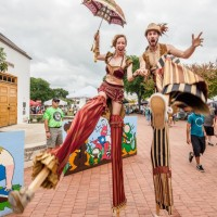 Greenheart Creative - Stilt Walker in Austin, Texas