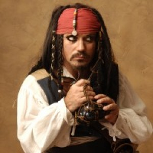 Jack Sparrow Impersonator - Pirate Entertainment in Orlando, Florida