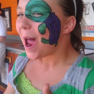 Grin-N-Barrett - Face Painter / Caricaturist in Toledo, Ohio