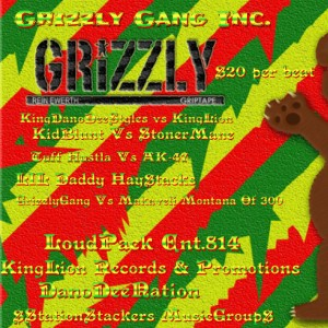GrizzlyGang Inc.814 / StationStackers music group - Rap Group in Erie, Pennsylvania
