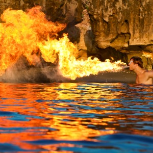Groovolution - Fire Dancer in West Palm Beach, Florida