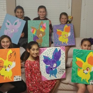 Groovy Gal Designs - Painting Party / Arts & Crafts Party in Houston, Texas