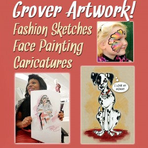 Grover Artwork - Face Painter / Halloween Party Entertainment in Hanover, Pennsylvania