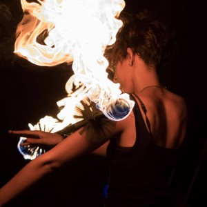 Leila - Fire Performer in Fort Lauderdale, Florida