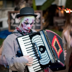 Guillermo the Clown - Clown / Accordion Player in Santa Cruz, California