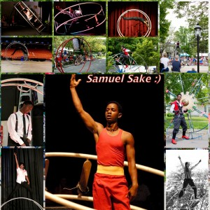 Gym Wheel Performances by Samuel Sake - Acrobat in Chicago, Illinois