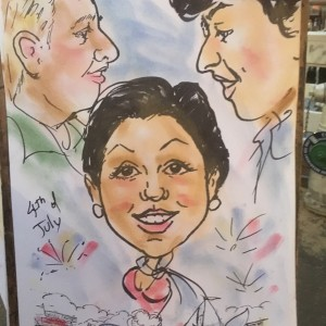 Gypsyartsstudio - Caricaturist in Monterey, California