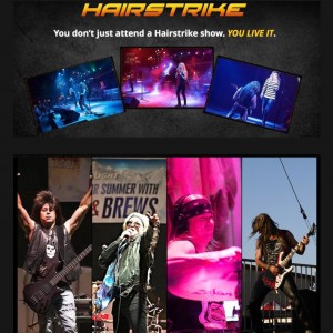 Hairstrike - Tribute Band / Top 40 Band in Redwood City, California