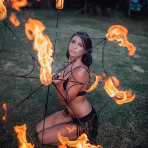 Haley Lane - Fire Performer in Knoxville, Tennessee