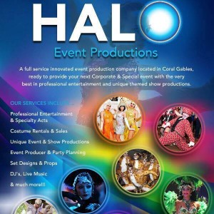 Halo Event Productions - Dance Troupe / Burlesque Entertainment in Miami, Florida