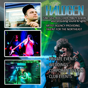 Halogen Media Works - Funk Band / Event Planner in Essex Junction, Vermont