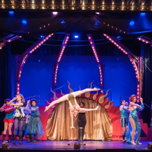 Handbalancing and Aerial Acrobatics - Balancing Act in Las Vegas, Nevada
