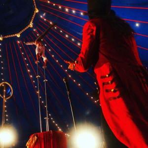 Handbalancing and hula hoops - Circus Entertainment in Las Vegas, Nevada