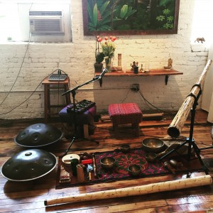 Handpan and Didgeridoo