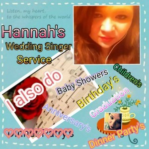 Hannah's Wedding Singer Service - Guitarist in Poplar Bluff, Missouri