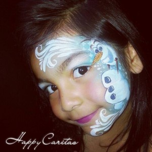 Happy Caritas - Face Painter in Cerritos, California