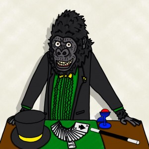 Harambini the Gorillagician - Magician in Midway City, California