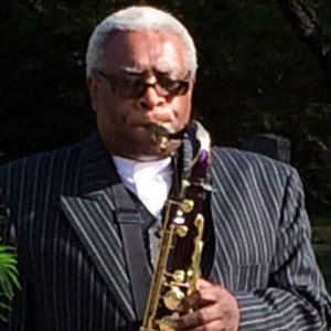 Harold Kimble impersonates James E Jones - Saxophone Player in Poughkeepsie, New York