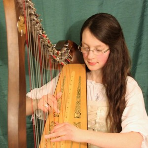Harpist Kaitlin Kelley - Harpist / Celtic Music in Green Bay, Wisconsin