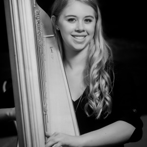 Claire Honl - Harpist in Decorah, Iowa