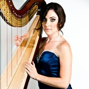 Harpist Charissa
