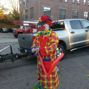 Harry the Clown or Harry the Twist - Clown in Jamaica Plain, Massachusetts