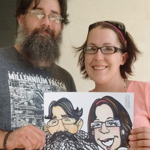 Live Caricature Entertainment! - Caricaturist / Arts & Crafts Party in Laconia, New Hampshire