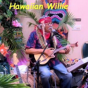"Hawaiian Willie and his Wonder Ukulele, ""Jigger"" - Willie Nelson Impersonator in Torrance, California"