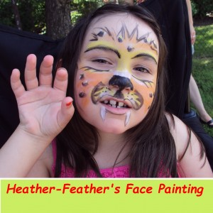 Heather-Feather's Face Painting - Face Painter / Outdoor Party Entertainment in Peterborough, Ontario