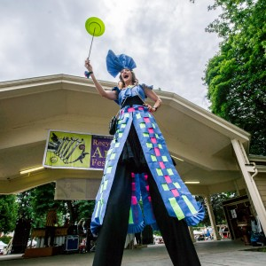 Heather Pearl - Stilt Walker in Portland, Oregon