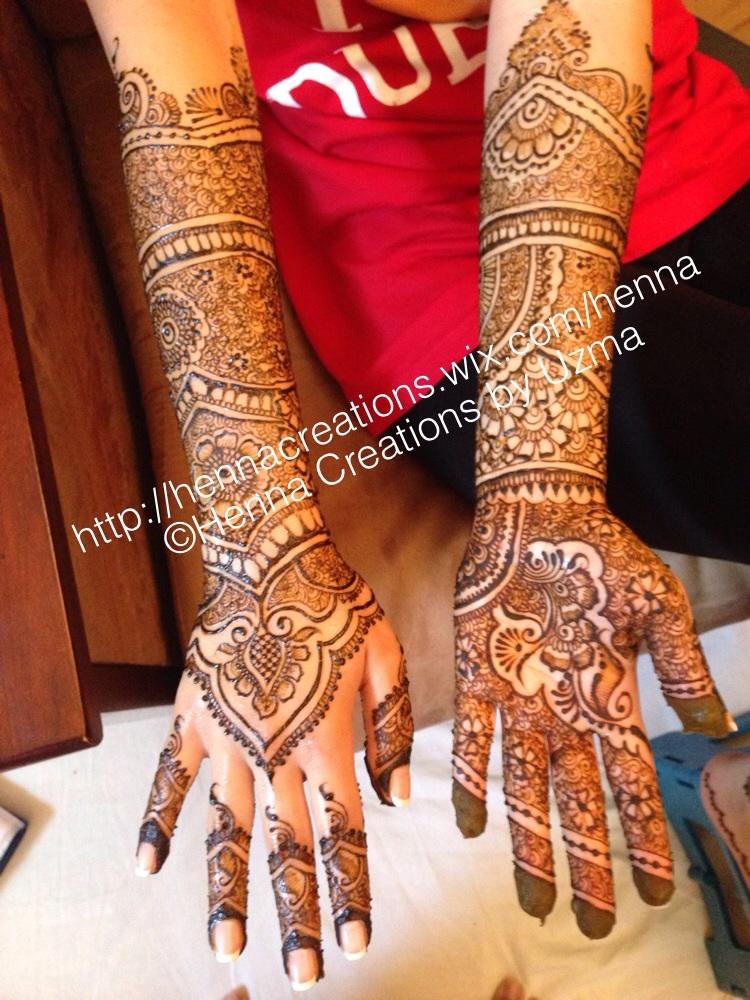 Hire henna creations by uzma henna tattoo artist in for Henna tattoo richardson tx