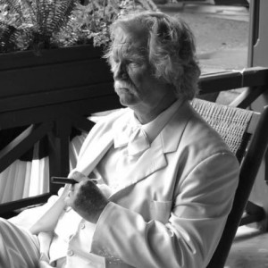 Here's Mark Twain - Look-Alike in Reading, Pennsylvania