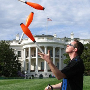 High Energy Juggling! - Juggler / Outdoor Party Entertainment in Auburn, Maine