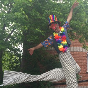 Luciano Lu - Stilt Walker in Ottawa, Ontario