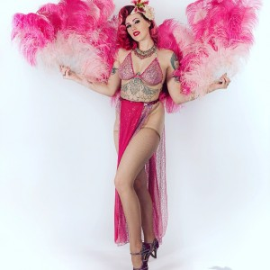 Holly Dai Burlesque Performance Entertainer