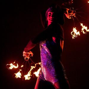 Hoop Dance with Dana Nicole - Fire Performer / Fire Dancer in Santa Barbara, California