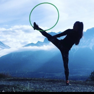 Marika Sila - Hoop Dancer in West Vancouver, British Columbia