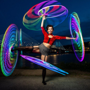 Hoop with Kendall - Circus Entertainment in Portland, Oregon