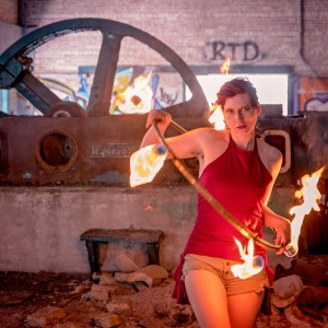 Scarlet Finch - Hoop Dancer / Fire Performer in Chicago, Illinois