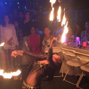 Hoopsie Daisies - Fire Dancer / Holiday Entertainment in New York City, New York