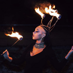 Hoopsista - Fire Performer in Annapolis, Maryland