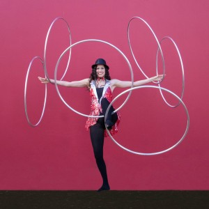 Corean Gonzales - Circus Entertainment / Interactive Performer in Austin, Texas