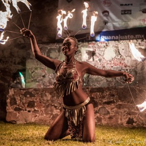 Jungle Arts - Fire Dancer in San Diego, California