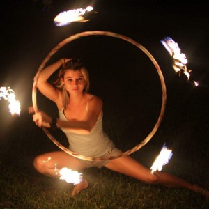 Hula Hoop Goddess - Fire Performer in Gainesville, Florida