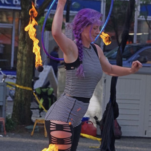 Hula hooper and Fire Dancer/Eater - Circus Entertainment / Fire Eater in Pittsburgh, Pennsylvania