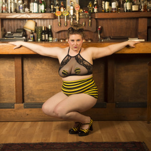 "Hunny Bee ""The World's Only Bee-lesquer"" - Burlesque Entertainment in Seattle, Washington"