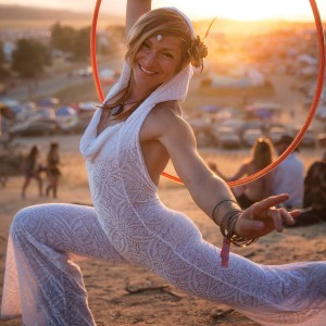 Hypnotic Hoop Dance - Fire Performer in San Francisco, California