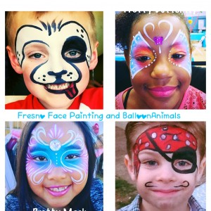 Fresno Face Painting and Balloon Animals - Face Painter / College Entertainment in Fresno, California